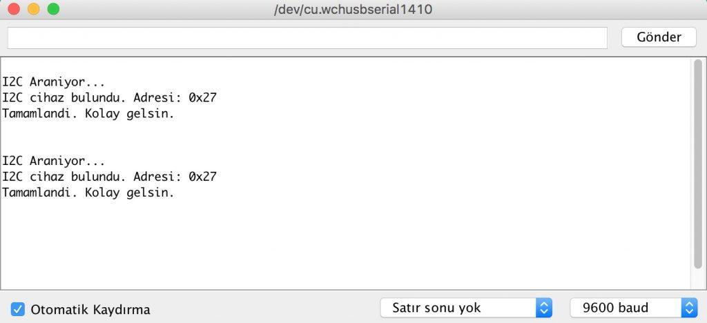 I2C-adresi