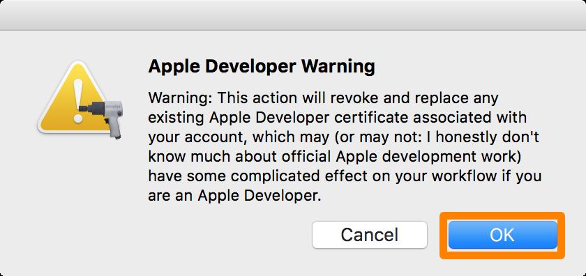 Apple-Developer-Warning-Pangu-OK