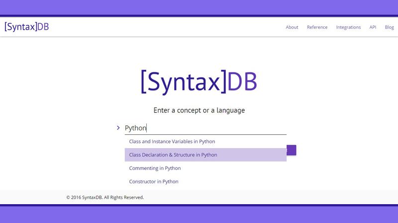 SyntaxDB