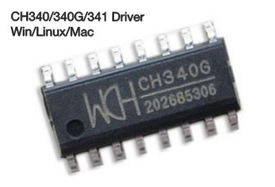 Photo of CH340/340G/341 Type Chip Drivers