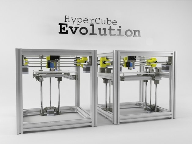 Photo of HyperCube Evolution (Hevo) CoreXY 3D Printer
