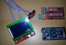 Photo of Reprap Discount Full Graphics 128×64 LCD Test Sketch