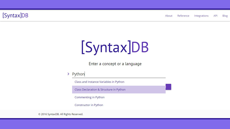 Photo of Programlama Dilleri İçin Arama Motoru – SyntaxDB.com